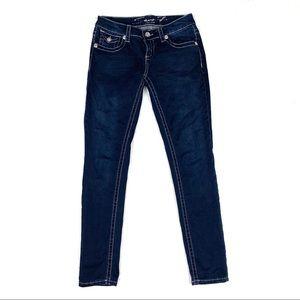 Seven Dark Blue Jeans with rhinestones SZ4